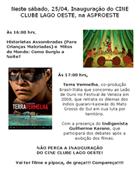 Inauguração Cine Clube